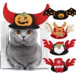 New              Pet Hat Dog Halloween Christmas Headgear Cat Funny Headwear Supplies