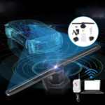 New               3D 224 LED Hologram Projector Fan WIFI Holographic Display Player Advertising Stage Light