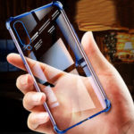 New              Bakeey Transparent Shockproof Plating Soft TPU Protective Case For Xiaomi Mi A3 / Xiaomi CC9e