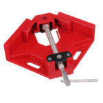 New              Drillpro 90 Degree Corner Right Angle Clamp T Handle Vice Grip Woodworking Quick Fixture Aluminum Alloy Tool Clamps
