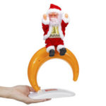 New              Christmas Gift Electric Dancing Santa Claus Music Box Musical Education Toys Home Decor Fashion Accessories