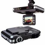 New              2in1 5MP Car DVR Recorder+Radar Laser speed Detector Trafic Alert