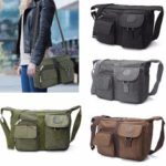 New              Men Women Casual Nylon Shoulder Handbag Travel  Messenger Crossbody Tote