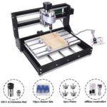 New              Offline Version 3018 PRO 3 Axis CNC Router GRBL Control DIY Adjustable Speed Spindle Motor Wood Engraving Machine Milling Machine Offline Controller XYZ Working Area 300x180x45mm