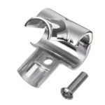 New              90° 3 Ways Separable Pipe Tube Connector Clamp 316 Stainless Steel Marine Boat Yacht Railing Handrail