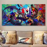 New              Abstract Modern Art Oil Paintings Print Picture Home Wall Decor Unframed