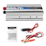 New              Solar Power Inverter 1000W True DC 12V to AC 220V USB Modified Sine Wave Converter Car Power Inverter Charger Adapter