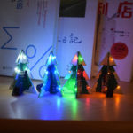 New              Geekcreit® 3D Mini SMD PCB Stereo Christmas Tree DIY Music Kit