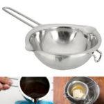 New              11cm Stainless Steel Chocolate Butter Melting Pot Pan Kitchen Milk Bowl Boiler