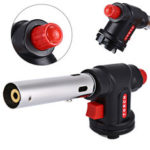 New              IPRee® Gas Torch Flame Blowtorch Cooking Soldering Butane AutoIgnition gas-Burner Lighter Heating Welding gas burner flame Flamethrower