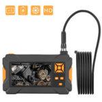 New              P30 4.3inch High-definition 1080P Display  Screen Hosepipe Borescope IP67 Waterproof 1M/3M/5M Orange Hand-held Industrial Borescope