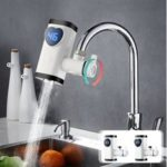 New              Electric Faucet Tap Heater Instant Hot Water LED Show Fast Heating Home Kitchen Faucet