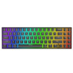 New              Royal Kludge RK71 71 Keys Dual Mode bluetooth 3.0 + USB Wired RGB Backlit Mechanical Gaming Keyboard