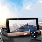 New              7 Inch 1080P HD Dual Lens Car DVR Camera Recorder Video Dash Cam GPS G-Sensor