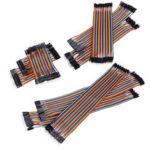 New              10cm / 20cm / 30cm FF FM MM Dupont Wire Jumper Cables Male & Female Connectors Wire For Arduino