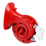 New              12V 250dB Metal Electric Bull Horn Super Loud Raging Sound Universal For Car Motorcycle