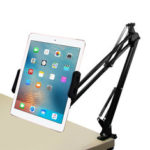 New              Desktop 360 Degree Rotating Lazy Arm Tablet Stand Phone Holder for 4.0-12.9 Inch Smart Phone Tablet for iPhone for Samsung for iPad Pro
