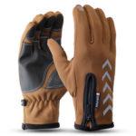 New              Men Sport Gloves Winter Warm Thermal Gloves Touchscreen Windproof Waterproof Cycling Skiing Mitten