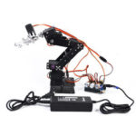 New              Small Harmmer DIY 6DOF Metal RC Robot Arm With  Develop Board MG996 Servo