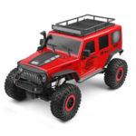 New              Wltoys 104311 1/10 2.4G 4X4 Crawler RC Car Desert Mountain Rock Vehicle Models With Two Motors LED Head Light