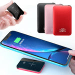 New              Bakeey 20000mAh Qi Wireless Charger LED Display Mini Power Bank Fast Charging for iPhone Android