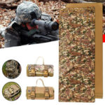 New              Outdoor Tactical Mat Lightweight Roll Up Molle Non-Slip Shooting Pads Picnic Mat
