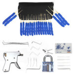 New              40Pcs Training Unlock Tool Skill Set 15-Piece Unlocking Lock Picks Set Key