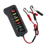 New              BATTERY FRIEND 12V 24V Car Battery Tester Digital Alternator Detector Mate Car Lighter Plug Diagnostic Tool with 6 LED Indicator