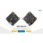 New              GEPRC GEP-20A-F4 AIO F4 MPU6000 Flight Controller OSD 20A Blheli_S 2-4S Brushless ESC 26.5×26.5mm