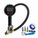 New              200Psi LCD Display Tire Pressure Gauge Digital Tester With LED For Car Truck Monitor Motorcycle Bicycle