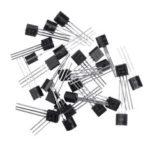 New              50pcs BC547+BC557 Each 25pcs BC547B BC557B NPN PNP Transistor TO-92 Power Triode Transistor Kit Bag