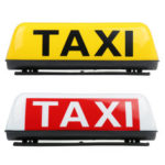 New              38cm Universal TAXI Cab Roof Sign Top Topper Waterproof Car Magnetic Sign Lamp Light Shell