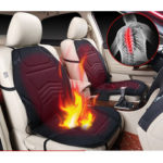 New              Universal  Car Auto Heated Seat Cushion Cover Pad Warmer Winter Autumn Double-Seat Black 12V