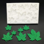 New              Tree Leaf / Maple Leaf Silicone Mold Fondant Mold Cake Decorating Tools Baking