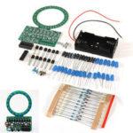New              DIY Gradient LED Flash Light Production Kit Electronic 4017NE555 Soldering Training Parts
