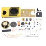 New              DIY Radio Kit Teaching Soldering Practice Tube Components Making Kit