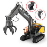 New              Double E E568-003 RC Excavator 3 IN 1 Vehicle Models Engineer RC Car