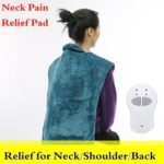 New              Extra-Long Relief Heat Massage Wrap Muscles Neck Shoulder Pain Therapy Washable