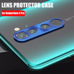 New              Bakeey Anti-scratch Metal Circle Ring Phone Camera Lens Protector for Xiaomi Redmi Note 8 Pro