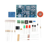 New              Electronic DIY Kit MQ-3 Sensor Alcohol Detector Tester Alarm System Components Suite