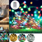 New              10M 100 LED String Light USB Fairy Night Lamps Holiday Christmas Decor + Remote Control