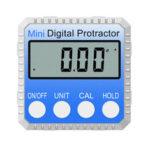 New              360 Degree Mini Digital Display Level Angle Protractor Inclinometer Measuring Magnet Tools