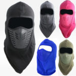 New              Outdoor Cycling Hood Hat Windproof Fleece Cap Warm Bib Face Mask