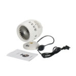 New              110-220V Electric Heater Fan Smart Warm Air Winter Warmer 5-20° Angle Adjustable Heating Fan Christmas Gifts