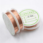 New              2-1.0mm Craft Beading Wire Red Copper Wire For Bracelet Necklace Jewelry DIY Accessories