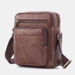 New              Men Vintage Gneuine Leather Shoulder Bag Crossbody Bag