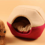 New              Cat Dog Bed Pet Mat House Foldable Soft Warm Animal Puppy Cave Winter Sleeping Pad