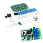 New              DIY Electronic Kit Set Voice-activated Melody Light Fun Soldering Practice Production Board Training Parts