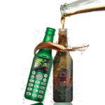 New              SERVO V8 Fashion Bottle Phone 2.0 Inch 300mAh bluetooth Dialer HD Magic Voice One Key Recorder Dula SIM Card Dual Standby Mini Card Phone