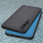 New              Bakeey Luxury Cotton Cloth Shockproof Protective Case for Xiaomi Mi Note 10 / Xiaomi Mi Note 10 Pro / Xiaomi Mi CC9 Pro